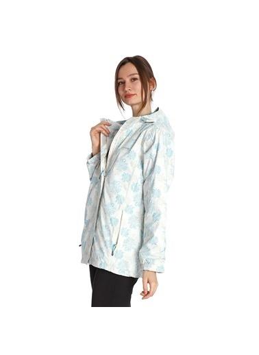 Regatta Zamba Kadın Beyaz Yağmurluk Rww087-7Wf Beyaz